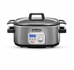 De'Longhi CKS1660D Livenza Programmable Slow Cooker with Sto