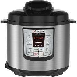Instant Pot LUX60, 6 Qt 6-in-1 Multi- Use Programmable Press