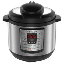 Instant Pot LUX80 3-8 Qt 6-in-1 Multi- Use Programmable Pres