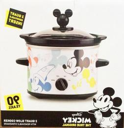 Disney Mickey Mouse 90th Anniversary Slow Cooker HTF ; NEW
