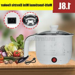 Mini Electric Noodle Rice Cooker Cooking Pot Kitchen Multi-f