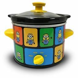 Uncanny Brands Minions 2 Quart Slow Cooker- Kitchen Applianc