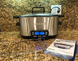 Cuisinart MSC-600 3-in-1 Multi Cooker 6 Quart Slow Cooker Br