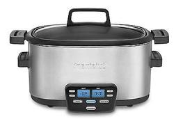 Cuisinart MSC600 3In1 Cook Central 6Quart MultiCooker Slow C