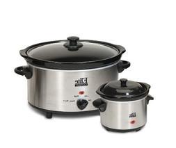 Elite Cuisine MST-500D Maxi-Matic 5 Quart Slow Cooker with D
