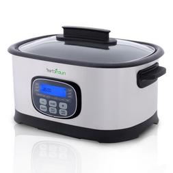 Multi-Cooker Digital LCD Display,  Preset Cooking Modes, Sta