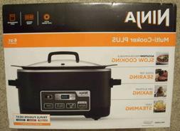 Multi-Cooker Plus 4 in 1 System Kitchen Slow Cooker Stove To