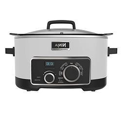 NINJA Multi-Cooker 4-in-1, White, 6 Qt.