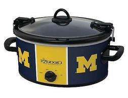 NCAA® University Of Michigan Cook & Carry 6-Qt. Slow Coo