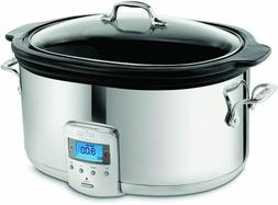 NEW  All-Clad SD700450 Programmable Oval-Shaped Slow Cooker
