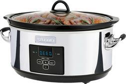 NEW Crock-Pot 7 Quart Programmable Slow Cooker Digital Count