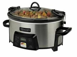 NEW Crock-Pot Programmable Cook Carry Extra Large Slow Cooke