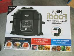 New Ninja Foodi Pressure Cooker with TenderCrisp & Dehydrate