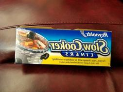 """New in Box! Reynolds Crock Pot Slow Cooker Liners 13 X 21"""""""