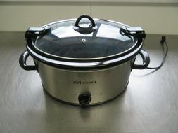 New in Box CrockPot Original Slow Cooker Cook & Carry 5 Quar
