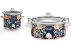NEW Pioneer Woman 6 & 1.5 Quart Slow Cookers - Fiona Floral