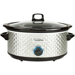 NEW Brentwood SC-157S Select 7 Quart Slow Cooker, Silver Coo