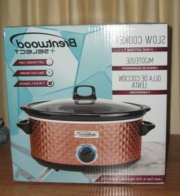 NEW/Sealed BRENTWOOD SELECT Slow Cooker 7quart Lead Free/FDA