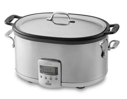 NEW Williams Sonoma All-Clad Deluxe Slow Cooker with Cast-Al