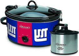 Crock-Pot New York Giants NFL Cook & Carry Slow Cooker with
