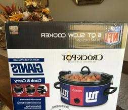 NFL® New York Giants Crock-Pot® Cook & Carry™