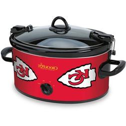 Crock-Pot NFL Slow Cooker, Kansas City Chiefs SCCPNFL600-KC