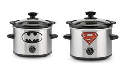 NEW Chefman 3 Quart RJ15-3-SS-R Slow Cooker Heat Settings Removable Crock NIB
