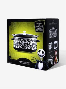 nightmare before christmas 7qt slow cooker new