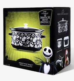 Nightmare Before Christmas Crock pot slow cooker 7 qt BRAND