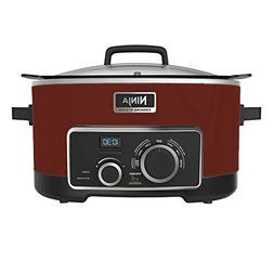 NINJA 4-in-1 Cooking System, Cinnamon/Red, 6 Qt