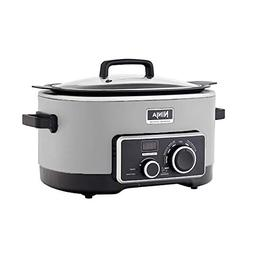 Ninja 6 Quart 3 In 1 Silver Multi-System Slow Cooker