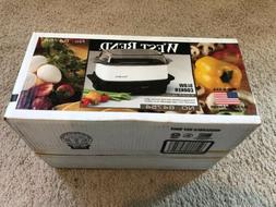 West Bend Oblong Versatility Slow Cooker, 4-Quart, Silver 84