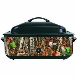 Open Country 18 Qt Roaster, Porcelain Cookwell - Camo Design