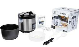 **OPEN BOX**Tayama TRC-50H1Digital Rice Cooker & Food Steame