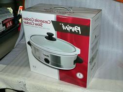 Parini Casserole Cooker Slow Cooker 2.5 Quart Oven Safe remo