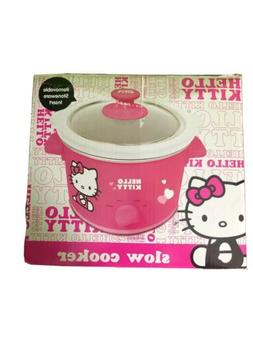 Hello kitty pink slow cooker 1.5 Quart Rare