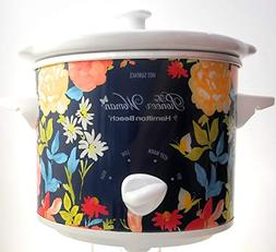 The Pioneer Woman 1.5 Liter Fiona Floral Slow Cooker Crock P