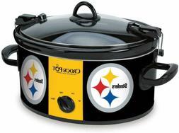 Crock-Pot Pittsburgh Steelers NFL 6-Quart Cook & Carry Slow