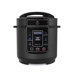 Pressure King PKP3LBK Digital Pressure Cooker 220-volt , 3.0