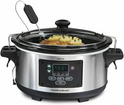 Portable 6-Quart Set & Forget Digital Programmable Slow Cook