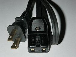 Power Cord for West Bend Versatility Slow Cooker Models 8411