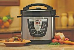 Power Pressure Slow Cooker XL Pot Roast Canning Quart Crock