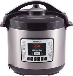 NuWave Nutri-Pot 8 Quart Digital Pressure Cooker,gray/black,