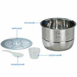 Pressure Cooker Instapot 6Qt Digital Slow Cooker Multifuncti