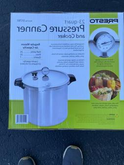Presto 01781 23 Quart Aluminum Pressure Canner & Cooker