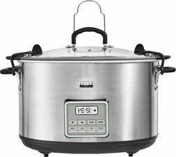 Bella - Pro Series 10-qt. Digital Slow Cooker - Stainless St