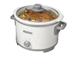 Proctor Silex 33042 4 Quart Slow Cooker, White