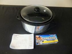 Proctor Silex 33156 Cooker - 1.25 gal - Silver