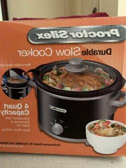 Proctor Silex Slow Cooker With Removable Crock