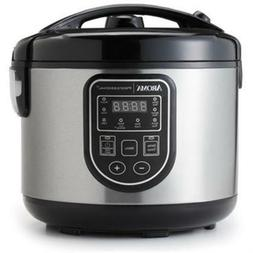 Aroma Professional 16 Cup Digital Rice Cooker Slow Cooker &